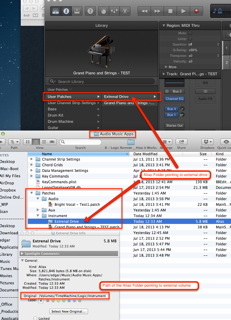 how to move imovie library to external drive