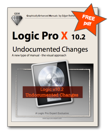 Free Pdf With Lots Of Changes In Logic Pro X V10 2 Kvr Audio